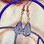 Soft Blue Earrings